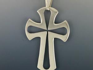 Sibling Rivalry Artisans Silver Cross