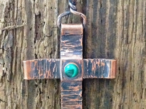 Copper cross